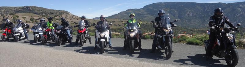 Moto Pyrénées balades