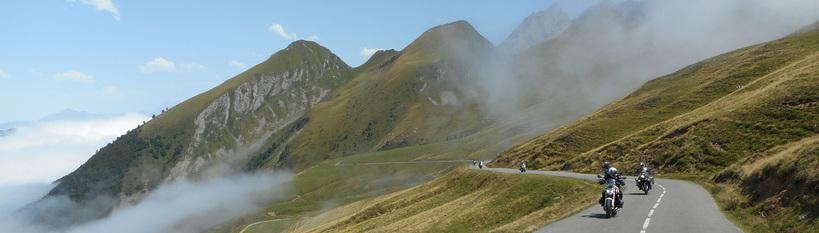 moto pyrenees
